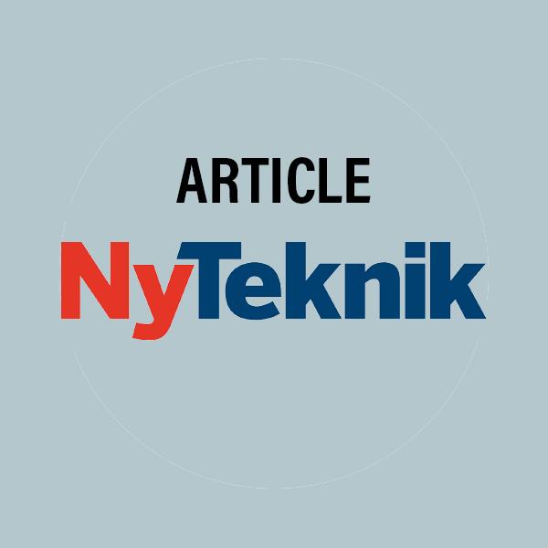 Captario artikel i Ny Teknik