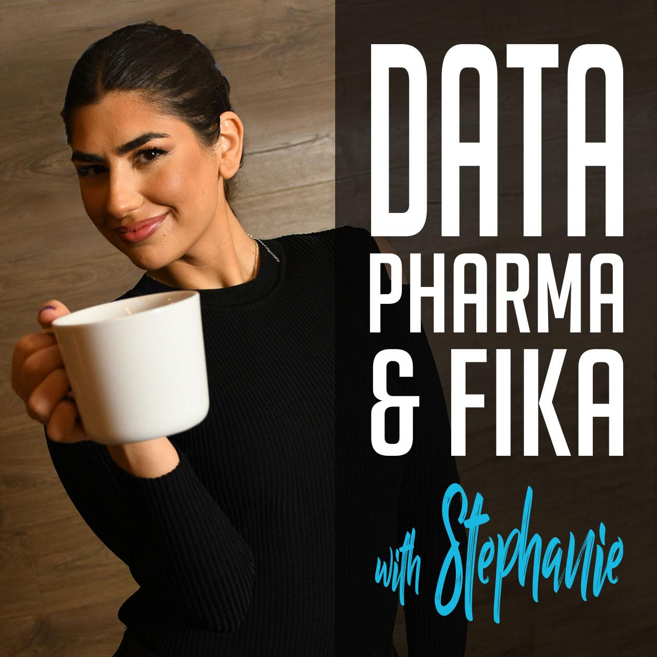Podcast by Captario. Data, Pharma & Fika